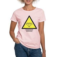 Women's Diamondoid Surfaces T-Shirt