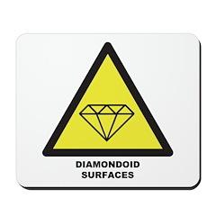 Diamondoid Surfaces Mousepad