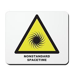 Nonstandard Spacetime Mousepad