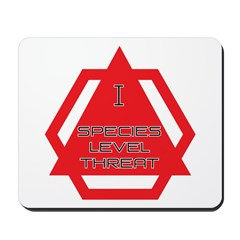 Species Level Threat Mousepad