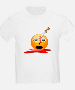 Funny Smiley Face for Halloween T-Shirt