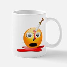 Funny Smiley Face for Halloween Mug