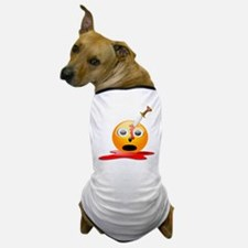 Funny Smiley Face for Halloween Dog T-Shirt