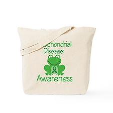 Mito Awareness Frog Tote Bag