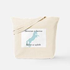 Rescue a horse... Tote Bag