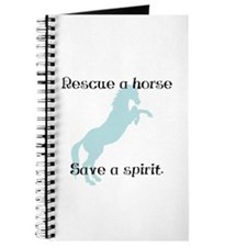Rescue a horse... Journal