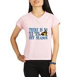 No Off Season Snowmobiling Performance Dry T-Shirt