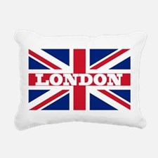 London1 Rectangular Canvas Pillow