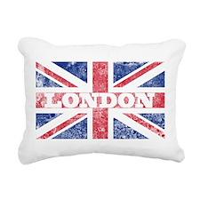 London2 Rectangular Canvas Pillow