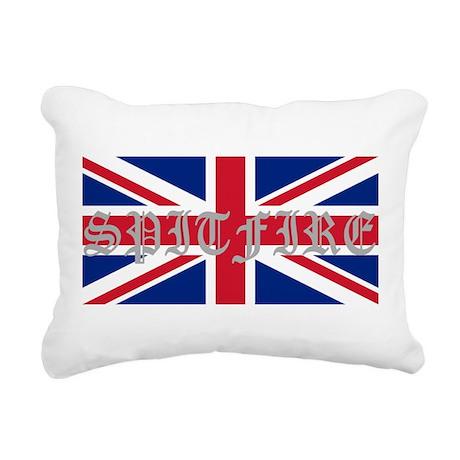 SPITFIRE.png Rectangular Canvas Pillow
