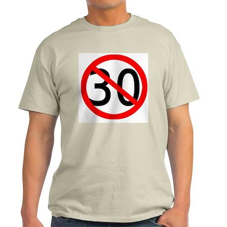 30 years old Ash Grey T-Shirt