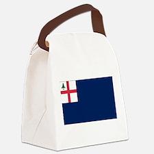 Bunker Hill Flag.png Canvas Lunch Bag