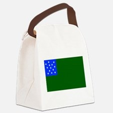 Green Mountain Boys Flag.png Canvas Lunch Bag
