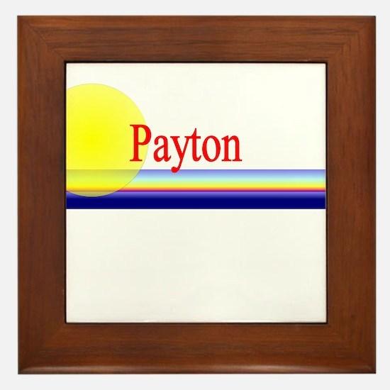 Payton Framed Tile