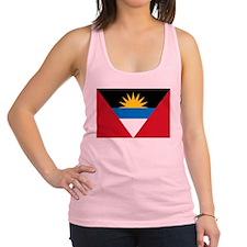 Antigua_and_Barbuda.png Racerback Tank Top