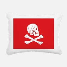 Henry_Every_red.png Rectangular Canvas Pillow