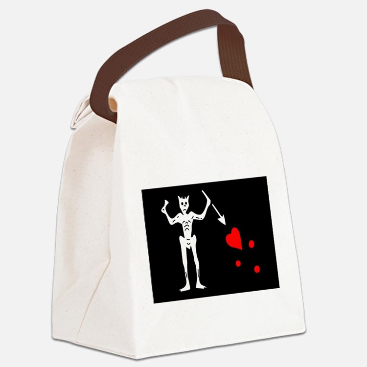 3-Blackbeard.png Canvas Lunch Bag