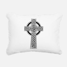 Celtic Cross Rectangular Canvas Pillow