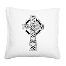 Celtic Cross Square Canvas Pillow