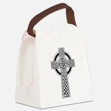 Celtic Cross Canvas Lunch Bag