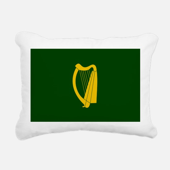 Irish Flag 2.png Rectangular Canvas Pillow