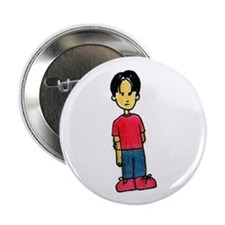 Quiet Boy Button