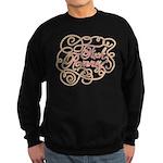 Cursive Fuck Romney Sweatshirt (dark)