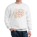 Cursive Fuck Romney Sweatshirt