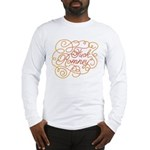Cursive Fuck Romney Long Sleeve T-Shirt