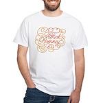 Cursive Fuck Romney White T-Shirt