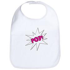 Pink Pop Bib