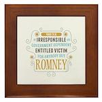 Irresponsible Entitled Framed Tile