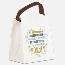 Irresponsible Entitled Canvas Lunch Bag