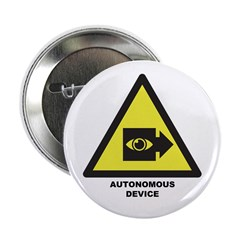 "Autonomous Device 2.25"" Button"