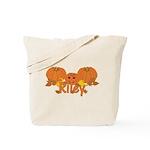 Halloween Pumpkin Riley Tote Bag