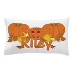 Halloween Pumpkin Riley Pillow Case
