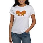 Halloween Pumpkin Riley Women's T-Shirt