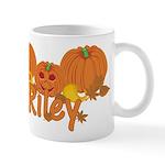 Halloween Pumpkin Riley Mug