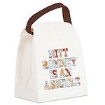 Mitt Romney is an Asshole Canvas Lunch Bag
