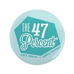 "The 47 Percent 3.5"" Button (100 pack)"