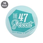 "The 47 Percent 3.5"" Button (10 pack)"