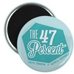 "The 47 Percent 2.25"" Magnet (100 pack)"