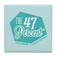 The 47 Percent Tile Coaster
