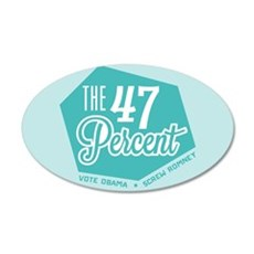 The 47 Percent Wall Decal