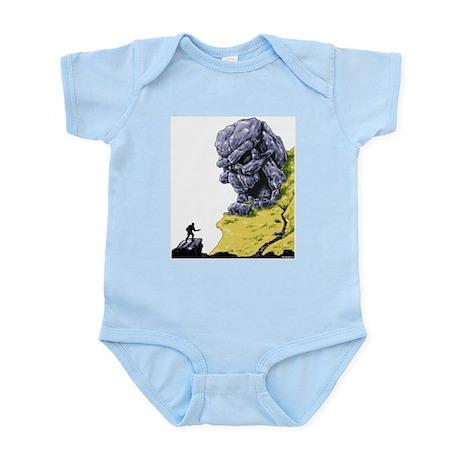 Disc Golf SKULL CAVE Infant Bodysuit