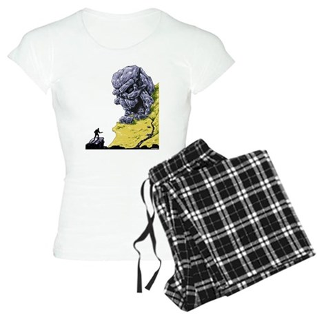Disc Golf SKULL CAVE Women's Light Pajamas