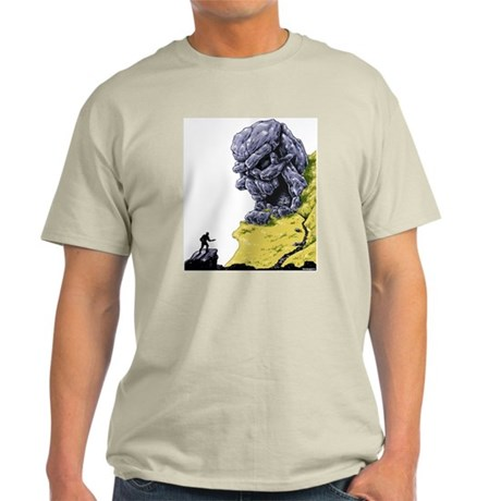 Disc Golf SKULL CAVE Light T-Shirt