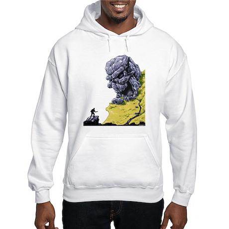 Disc Golf SKULL CAVE Hooded Sweatshirt