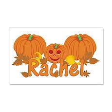 Halloween Pumpkin Rachel Wall Decal