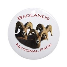 Badlands National Park Ornament (Round)